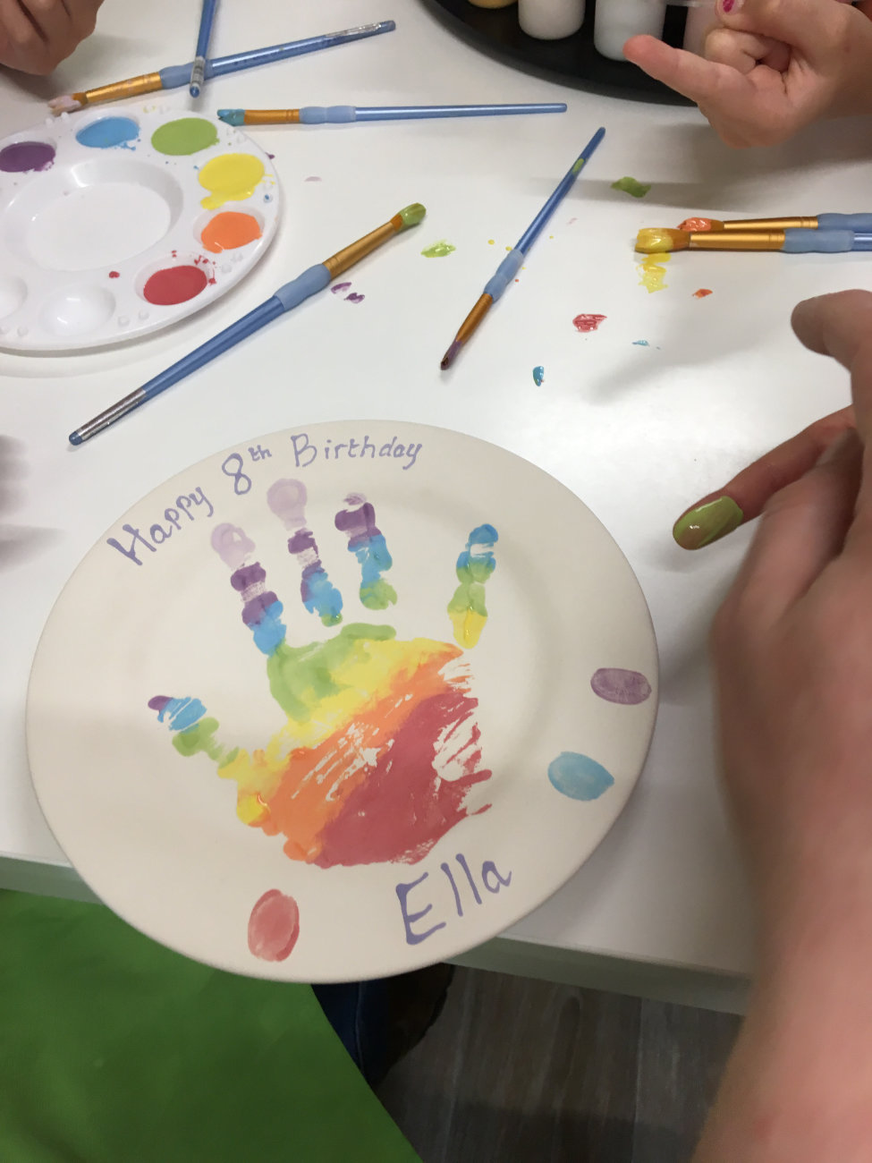 Pottery Painting at home